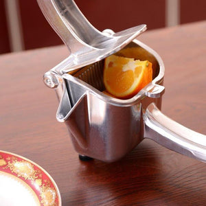 Stainless Steel Manual Lemon Juicer