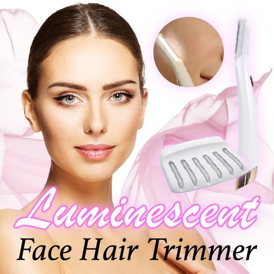 Luminescent Face Hair Trimmer