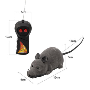 Wireless Remote-Controlled Toy Mouse