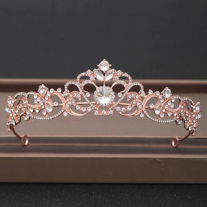 Shining Crystal Bridal Crowns