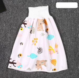 Comfy Children's Diaper Skirt Shorts 2 in 1