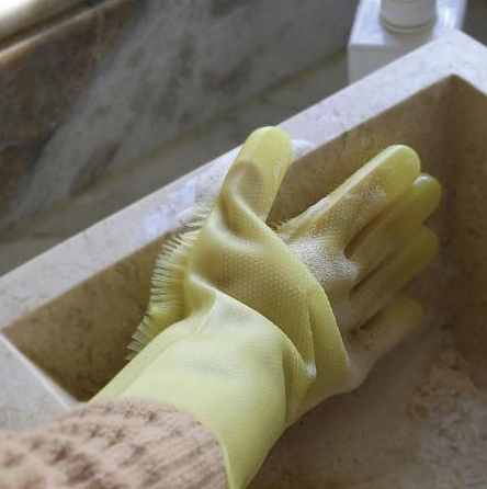 Magic Cleaning Dishwashing Gloves