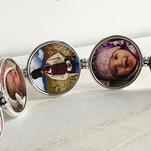 Multi-layer Photo Creative Necklace