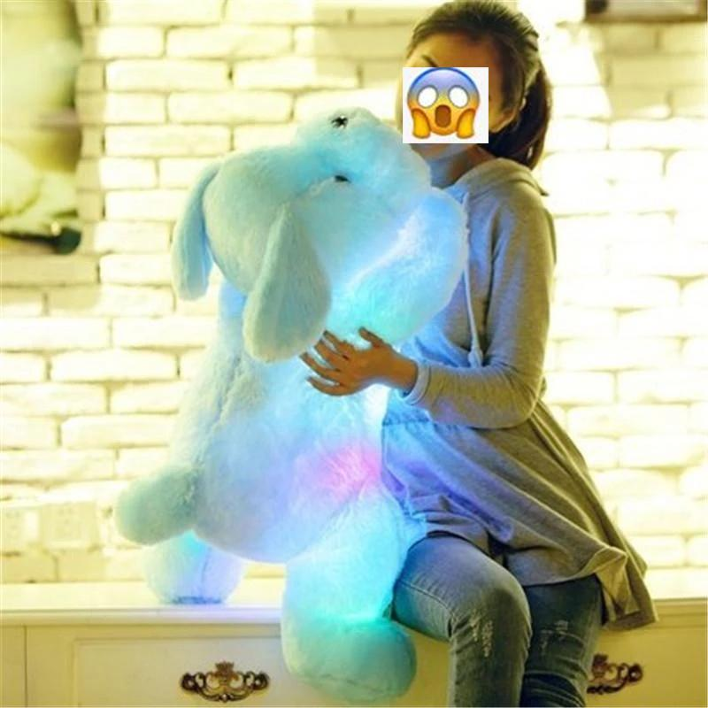 Creative Gift Dog Glowing Doll