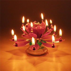 Blooming Musical Candle