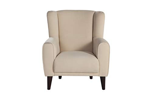 BELLONA Trendy Home Furniture Living Room Accent Chair Bolton Collection (Beige)