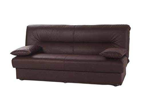 ISTIKBAL Multifunctional Furniture Living Room Sofa Bed Regata Collection (Chocolate)
