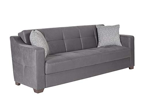 Istikbal Multifunctional Furniture Living Room Set Tahoe Collection (Melson Dark Grey, Sofa)