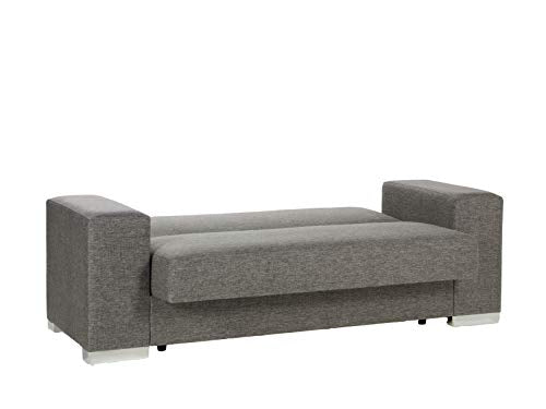 Istikbal Multifunctional Furniture Living Room Set Kobe Collection (Diego Grey, Love Seat)