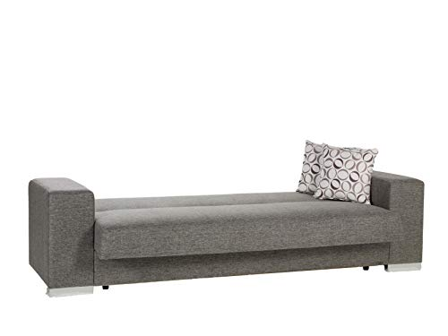 Istikbal Multifunctional Furniture Living Room Set Kobe Collection (Diego Grey, Sofa)