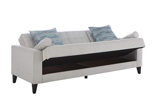 Bellona Milton Convertible sofa bed with storage
