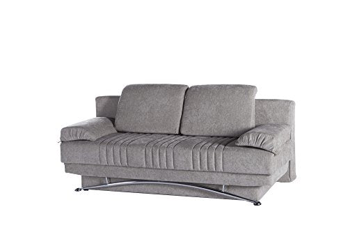 ISTIKBAL Multifunctional Furniture Living Room Sofa Bed Fantasy Collection (Valencia Grey)
