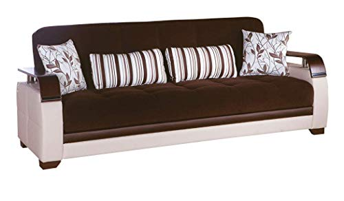 Istikbal Multifunctional Furniture Living Room Set Natural Collection (Collins Brown, Sofa)