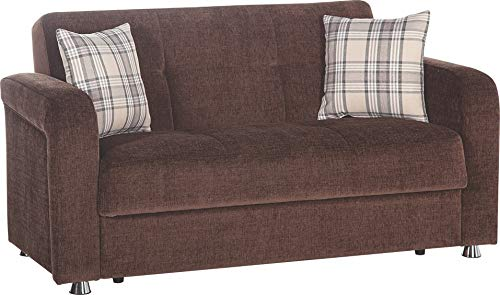 Istikbal Multifunctional Furniture Living Room Set Vision Collection (Brown, Love Seat)