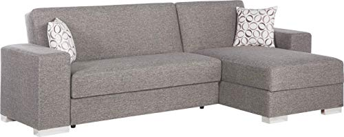Istikbal Multifunctional Furniture Living Room Set Kobe Collection (Diego Grey, Sectional)