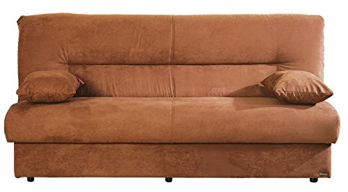 ISTIKBAL Multifunctional Furniture Living Room Sofa Bed Regata Collection (Obsession Truffle)