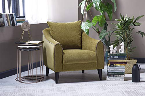 BELLONA Trendy Home Furniture Living Room Accent Chair Brookline Collection (Olive (276))