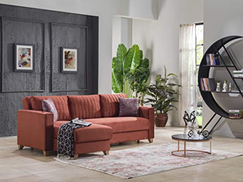 BELLONA Living Room Sectional Sofa bed with Storage PRUVA Collection