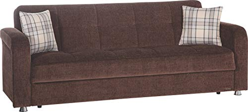 Istikbal Multifunctional Furniture Living Room Set Vision Collection (Brown, Sofa)