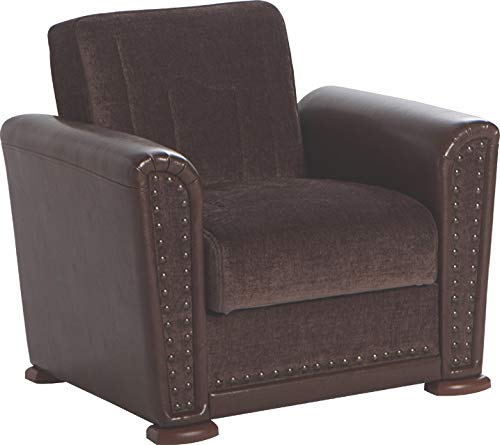 Istikbal Multifunctional Furniture Living Room Set ALFA Collection (Jennifer Brown, Chair)