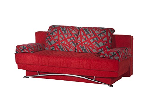ISTIKBAL Multifunctional Furniture Living Room Sofa Bed Fantasy Collection (Story Red)