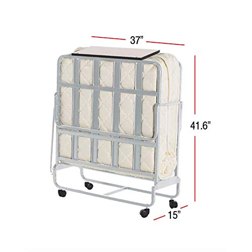 ISTIKBAL SLEEPist Sigma Collection - Rollaway Twin Size Folding Bed
