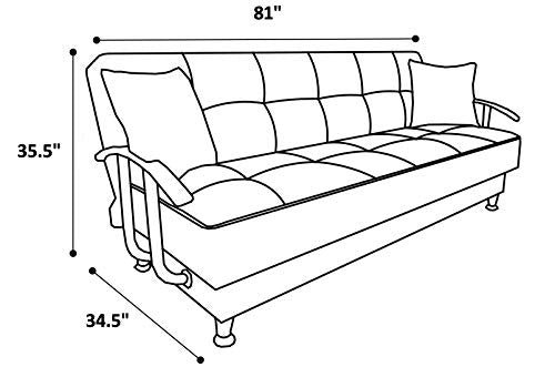 ISTIKBAL Multifunctional Furniture Living Room Sofa Bed Betsy Collection