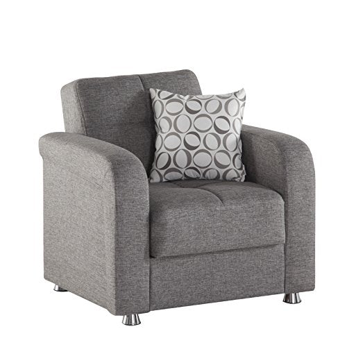 Istikbal Multifunctional Furniture Living Room Set Vision Collection (Grey, Chair)