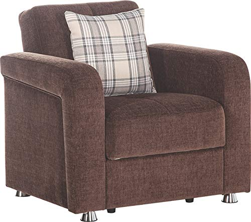 Istikbal Multifunctional Furniture Living Room Set Vision Collection (Brown, Chair)