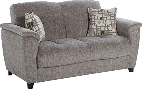 Istikbal Multifunctional Furniture Living Room Set Aspen Collection (Light Brown, Love Seat)