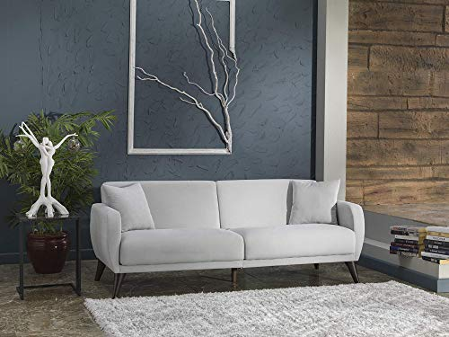 BELLONA Functional Sofa in A Box (Light Grey)