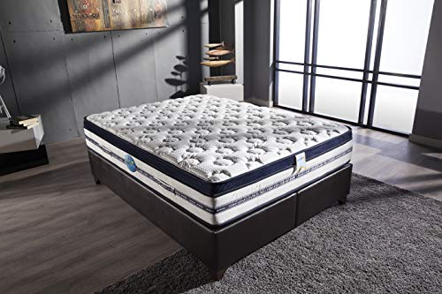 "ISTIKBAL SLEEPist BIORYTMIC Extra Firm 13"" Eurotop Mattress (King)"