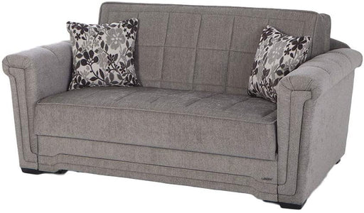 ISTIKBAL Multifunctional Furniture Living Room Sofa Bed Victoria Collection (Valencia Grey)