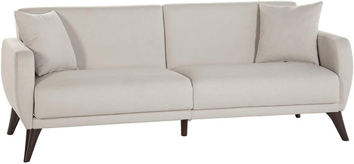 BELLONA Sleeper Sofa bed in A Box - Beige Fabric