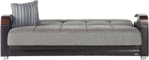 Bellona Luna Convertible sofa bed with storage (Fulya Grey, Sofa)