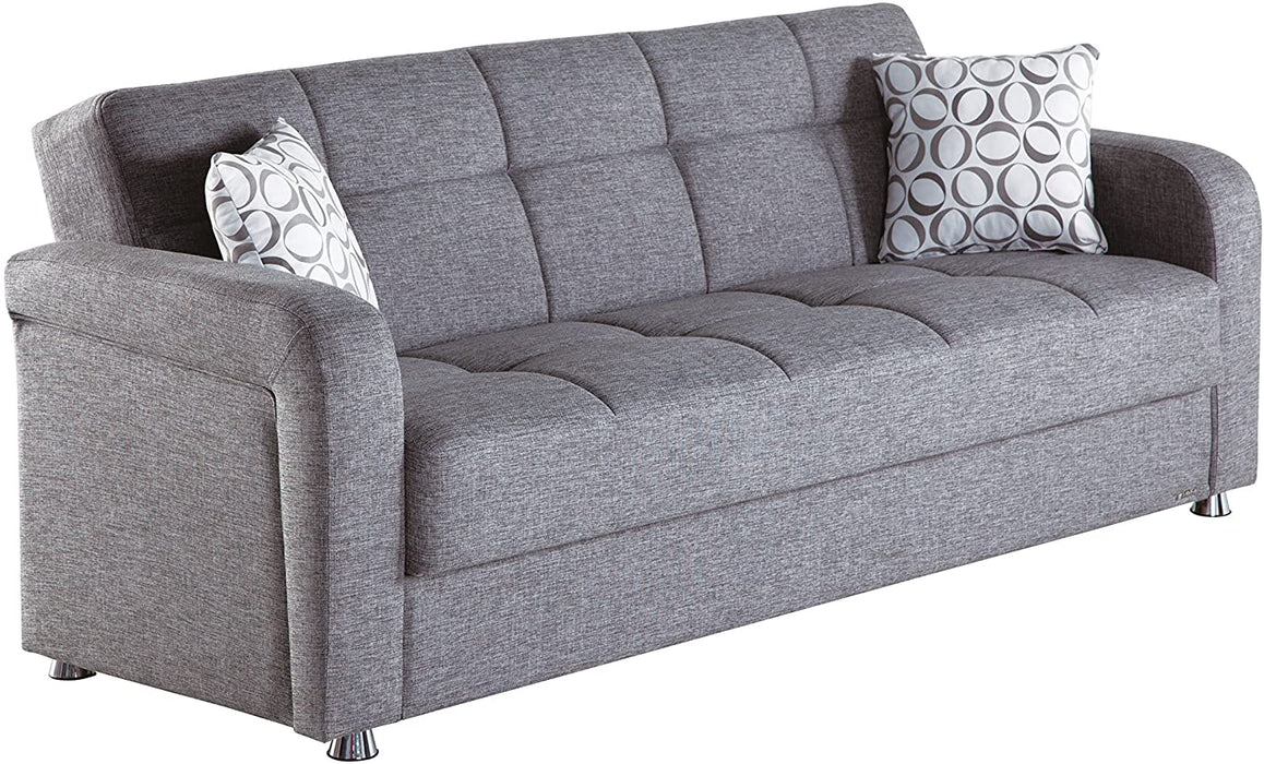 Istikbal Multifunctional Furniture Living Room Set Vision Collection (Grey, Sofa)