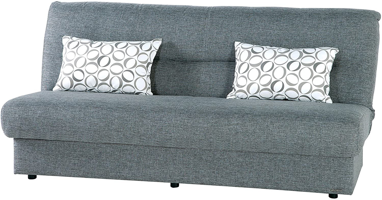 ISTIKBAL Multifunctional Furniture Living Room Sofa Bed Regata Collection (Diego Grey)