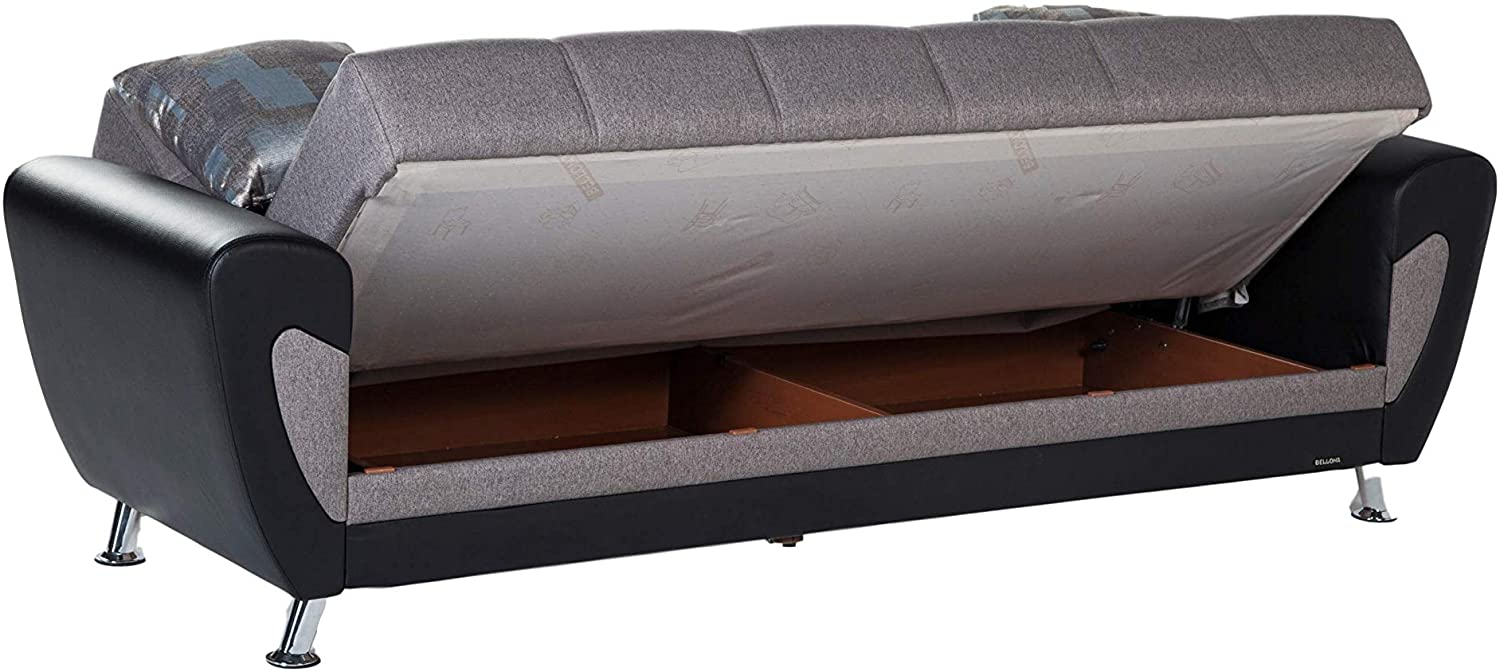 Bellona DURU Collection Convertible Sofa Bed (Remoni Antrasit)