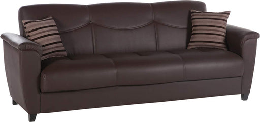Istikbal Multifunctional Furniture Living Room Set Aspen Collection (Dark Brown, Sofa)