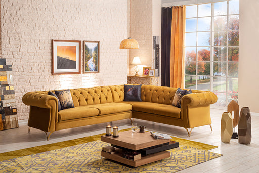 Oro Sleeper Sectional with Storage.