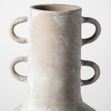 Load image into Gallery viewer, Harry Rustic Brown Tall Neck Ceramic Vase