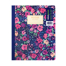Load image into Gallery viewer, Fabric Bound Notebook, College Ruled,