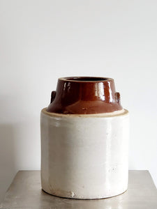 VINTAGE STONEWARE POTTERY CROCKS
