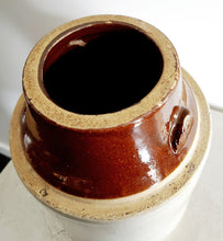 Load image into Gallery viewer, VINTAGE STONEWARE POTTERY CROCKS