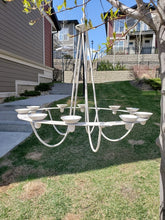 Load image into Gallery viewer, Outdoor Candle Chandelier - SOLD OUT