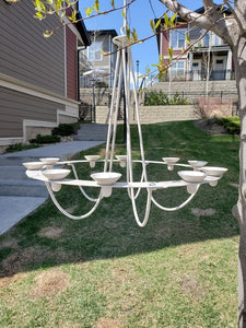 Outdoor Candle Chandelier - SOLD OUT