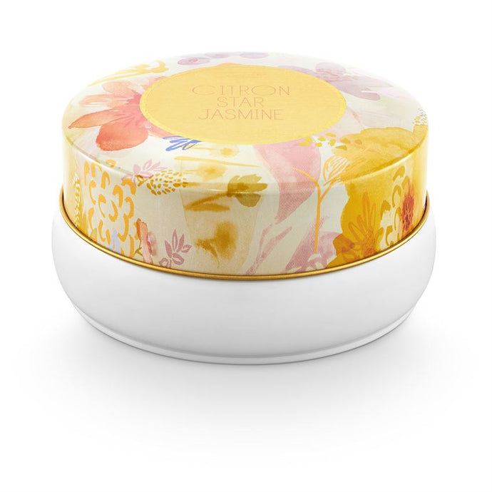 Citron Star Jasmine Bouquet Tin