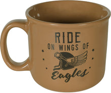 Load image into Gallery viewer, Ride On The Wings of Eagles Stoneware Mug
