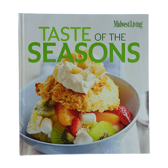 MidWest Living Taste Of Seasons Cookbook - Volume 4