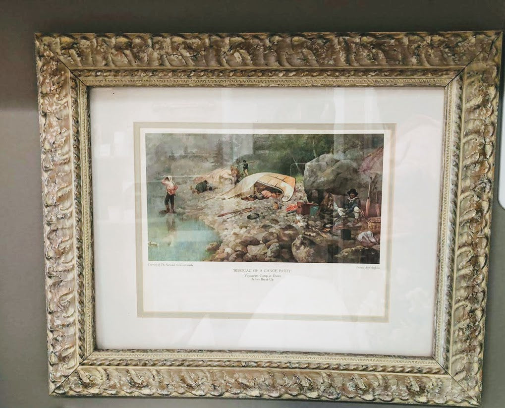 Vintage Framed Art